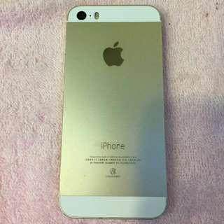 IPHONE 5S 16G 金色 已過保 僅使用8個月 保存良好 女用機 可徐匯中學站面交