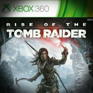 PRELOVED USED XBOX 360 RISE OF TOMB RAIDER