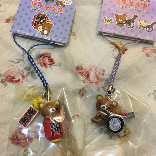 日本拉拉熊吊飾
