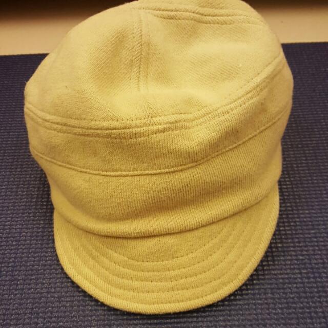 淺綠短鴨舌帽
