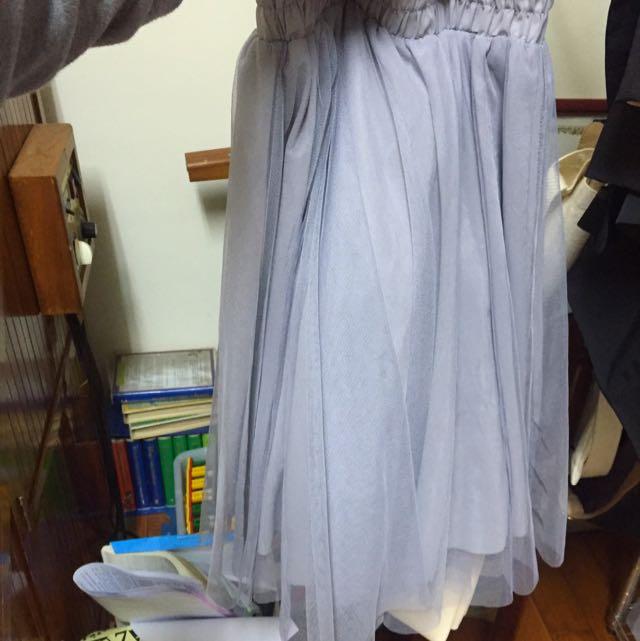 正韓澎澎紗裙