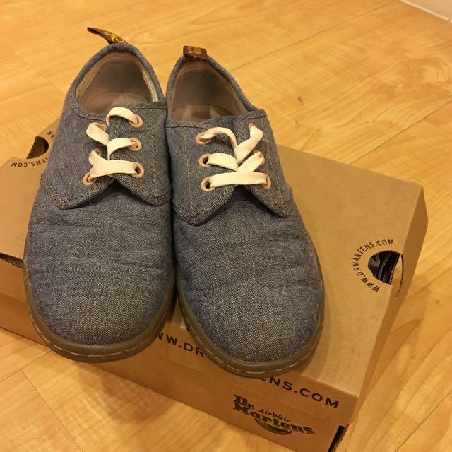 全新 正品 馬丁大夫休息布鞋 US6 37