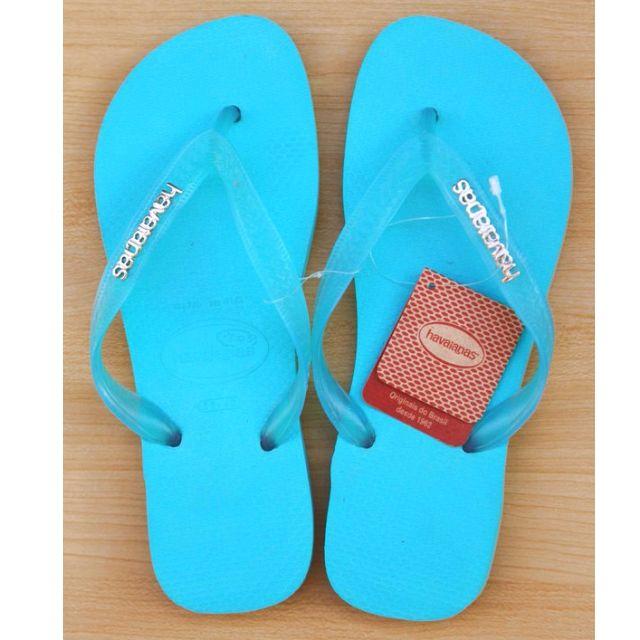 專櫃正品 havaianas 人字拖 metallic - 金屬logo 巴西拖鞋
