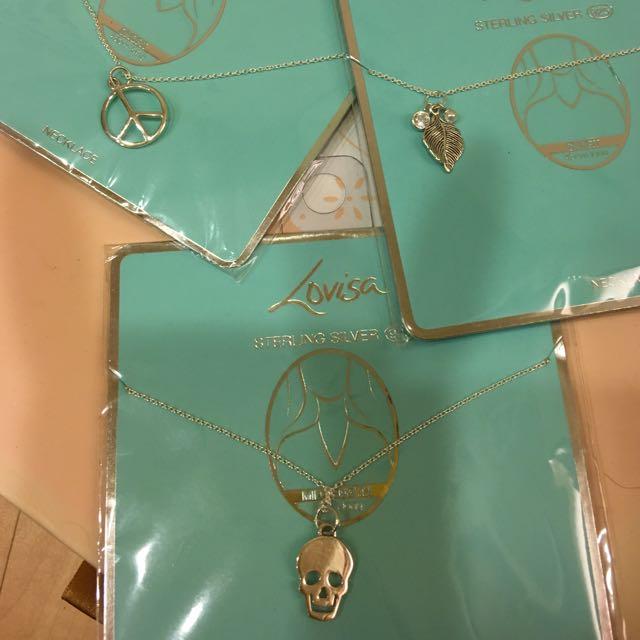 《降》全新 Lovisa 925純銀項鍊