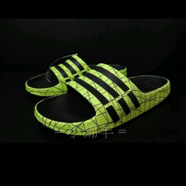 徵求!!adidas 拖鞋(黃色爆裂紋)