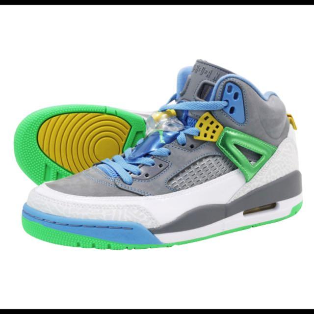 Air Jordan SPIZIKE 喬丹 史派克李 灰藍綠 球鞋