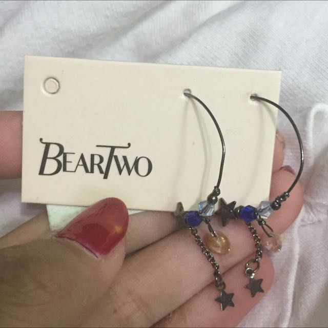 beartwo手工精品耳環