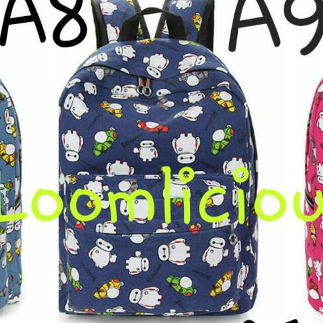 BN [[BAYMAX COLLECTIONS]] ~HOT SALES Promotion~ bagpack