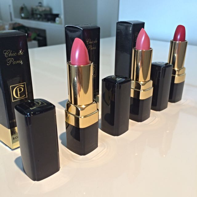 Chic De Paris Lipstick Trio