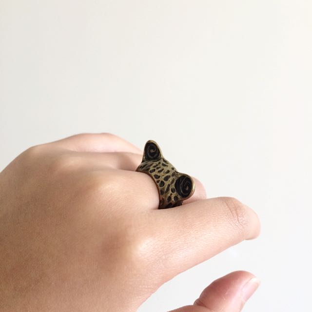 Cute Animal Ear Ring
