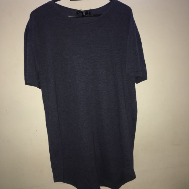 Forever21 Blue Oversize Tshirt