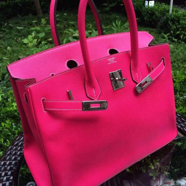 4a595416d08 ... where can i buy hermes birkin 35 e5 candy pink hot pink epsom leather  luxury on