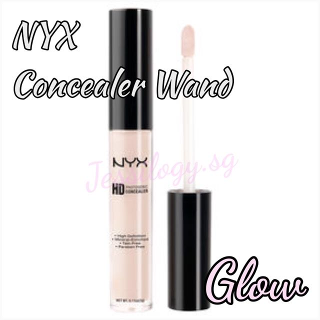 Instock nyx hd photogenic concealer wand cw06 glow health beauty on carousell - Nyx concealer wand glow ...