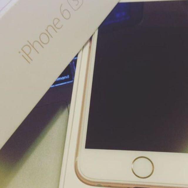 (保留中),全新Iphone 6s 16g玫瑰金 今日大特價僅此一隻\