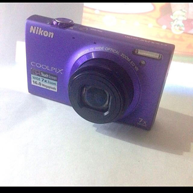 Kamera Nikon S6150 Purple / Ungu MINT CONDITION (SEPERTI BARU)