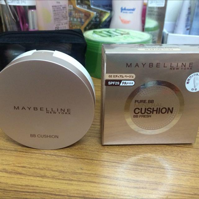 (待匯款)Maybelline 氣墊粉餅02自然色
