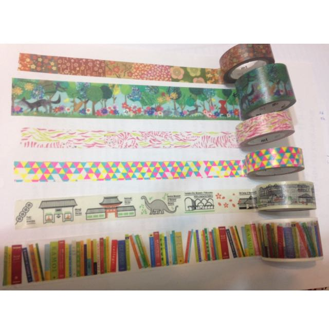🎉限定紙膠🎉多款Mt 展覽限定版紙膠帶