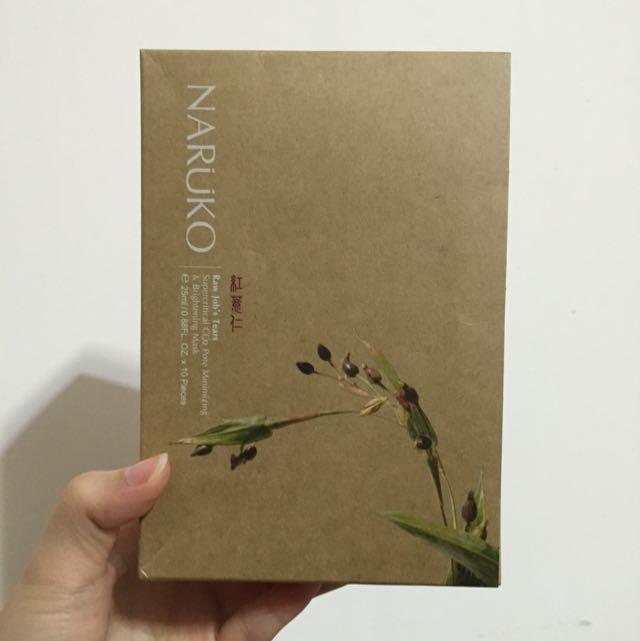 Naruko 牛爾 紅薏仁超臨界毛孔美白面膜