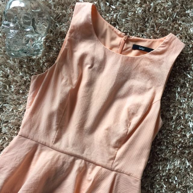 Portmans Peach Dress | Size 8 And Size 10 Available