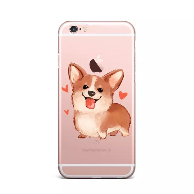 [Pre-order] Corgi Phone Case 6/6s