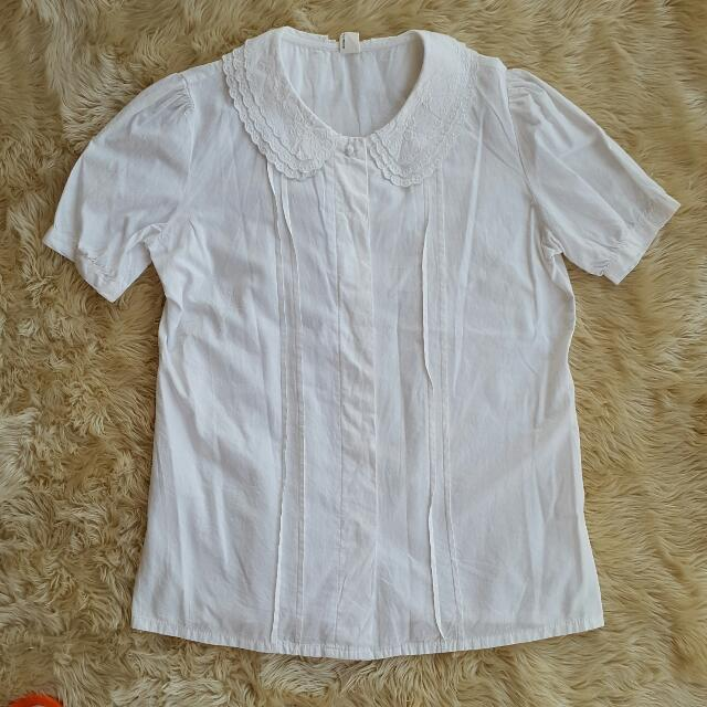 Short Lace Shirt
