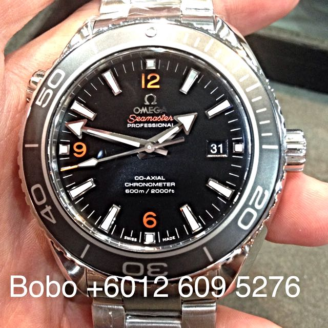 Used Omega Seamaster Planet Ocean 45 5mm