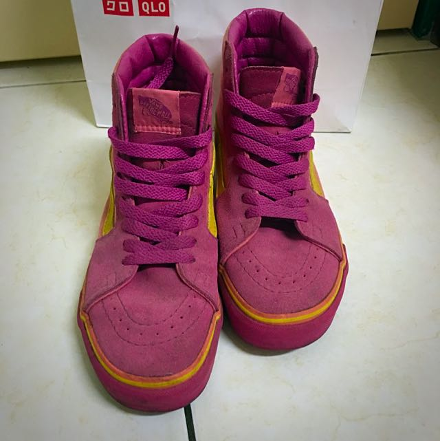 Vans高筒女鞋