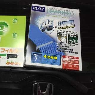 日本代購-汽車用品-空氣濾網 全新 打造優質車內環境Honda冷氣消臭濾網FIT專用
