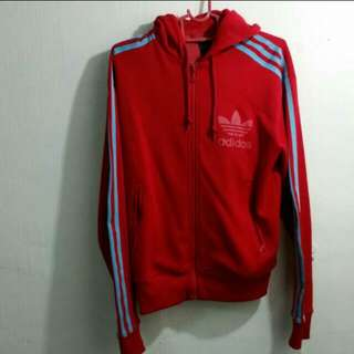 LOOKING FOR: Red Adidas Jacket