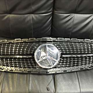 Front Grill For Mercedes