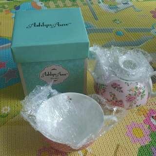 BN Ashley Anne Teapot/cup set
