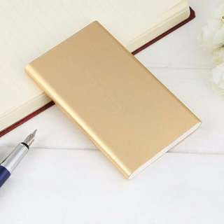 *ALL SOLD OUT* Rose Gold/Pink Super Slim Power Bank Portable charger