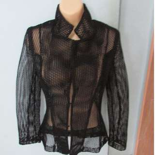 Black Thick Mesh Jacket (Brand New)