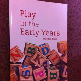 Play In The Early Years Textbook