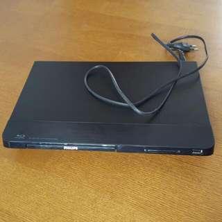Philips Blu-ray Disc / DVD Player BDP2100K