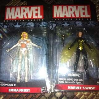 Marvel Universe Hasbro Emma Frost, Wasp