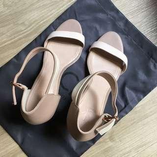 Calvin Klein Ankle Strap Heels