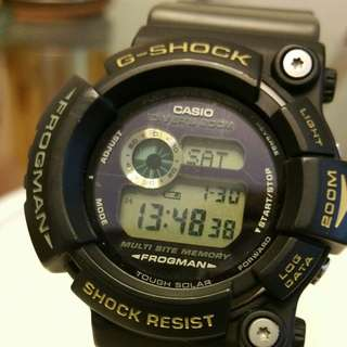 Casio G-Shock Frogman Triple Crown