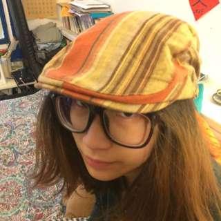 條紋小偷還是畫家帽