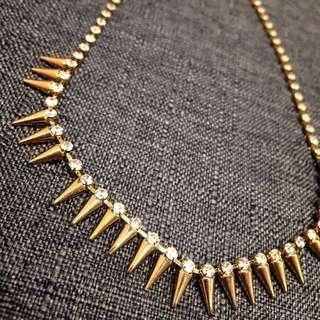 ✨含運✨卯丁 鑽 金色 造型 項鍊