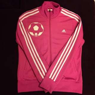 ✨含運✨Adidas 粉色 運動外套