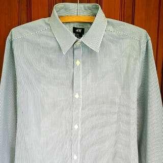 H&M Blue Shirt