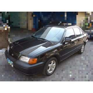 1996 豐田 Tercel 1.5 黑
