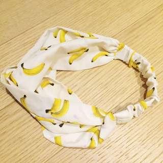香蕉圖案髮帶🍌