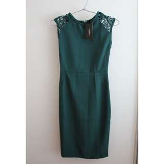 Brand New with Tags Green Zalora Dress - Size XS