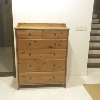 Cabinet with drawers (solid & heavy) - RESERVED
