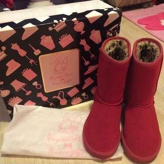 🚚 免運/Grace Gift X Crystal Ball 雪靴