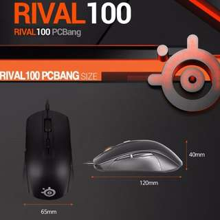 STEELSERIES RIVAL100 MOUSE