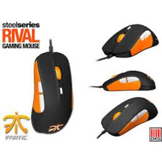 STEELSERIES RIVAL MOUSE FNATIC