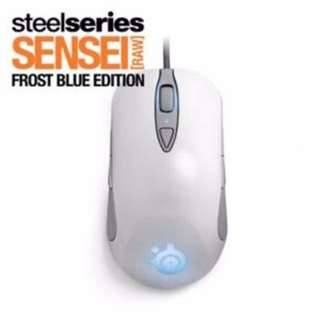 STEELSERIES SENSEI RAW MOUSE FROST BLUE